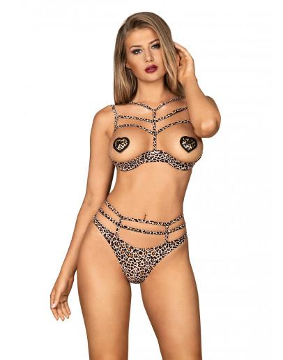 Erotiškų naktinių komplektas Obsessive (5314692)
